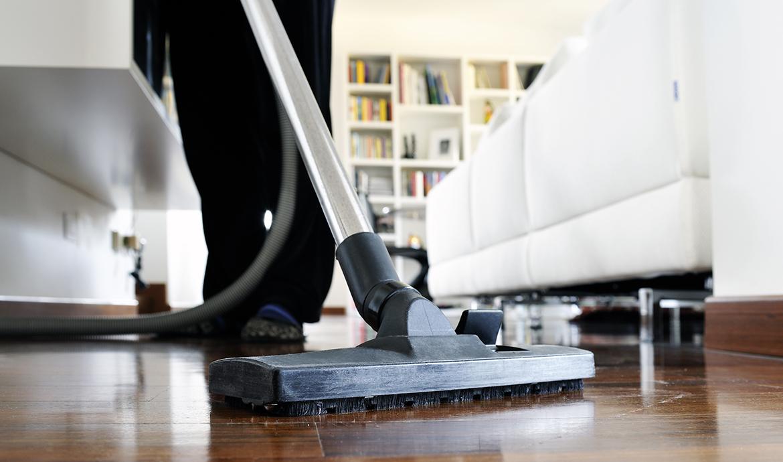 Unterhaltsreinigung von Fußböden